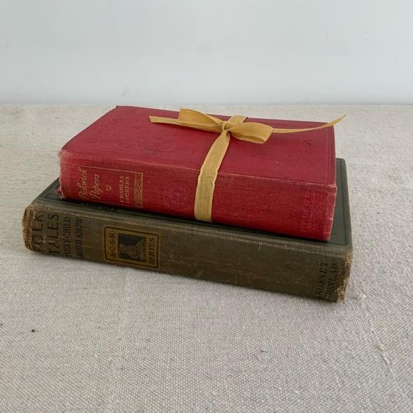 Vintage Charles Dickens Book